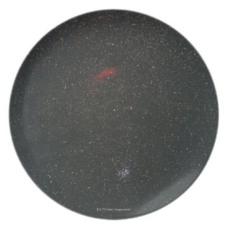 California Nebula and Pleiades Melamine Plate