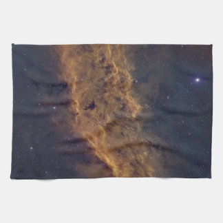 California nebula kitchen towels