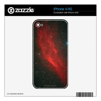 California Nebula iPhone 4S Skin