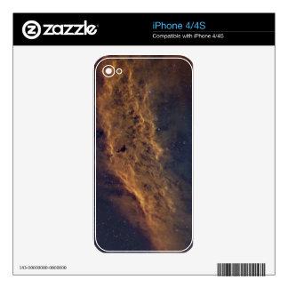 California nebula skins for the iPhone 4
