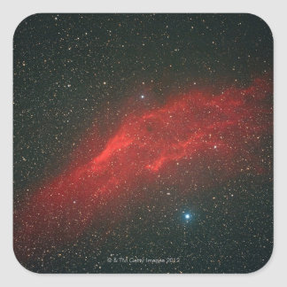 California Nebula Square Sticker