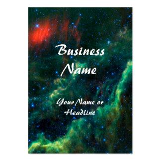 California Nebula & Star Menkhib Large Business Card