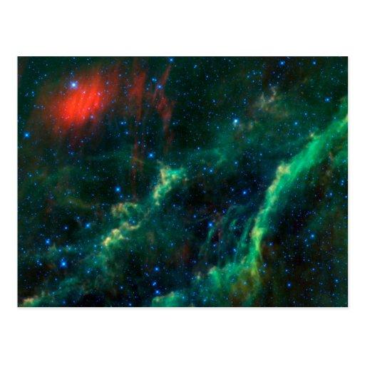 California Nebula & Star Menkhib Post Cards