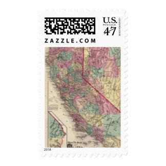 California, Nevada 3 Postage