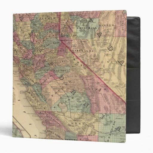 "California, Nevada Carpeta 1 1/2"""