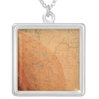 California, Nevada showing intensity Necklace