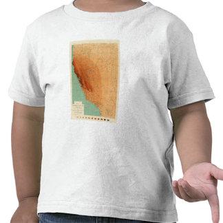 California, Nevada showing intensity Tshirts