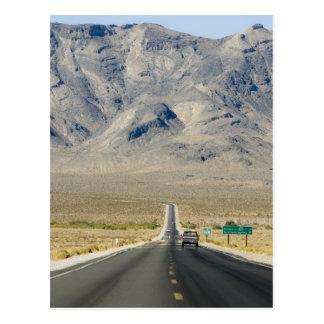 California & Nevada State Line Postcard