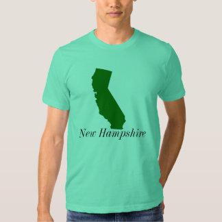 California, New Hampshire Tee Shirt