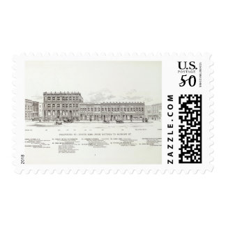 California North side Battery and Sansome Postage