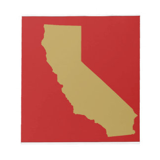 CALIFORNIA NOTEPAD