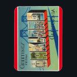 "California, Oakland Magnet<br><div class=""desc"">Vintage Travel Large Letter Post Card Image Magnet  Vintage Tichnor Image / Boston Public Library Collection</div>"