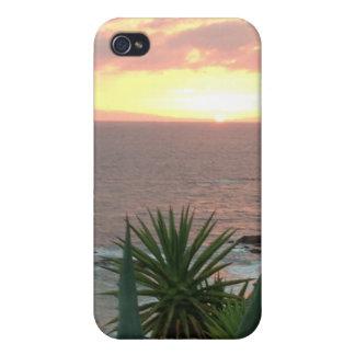 California Ocean Sunset iPhone 4 case