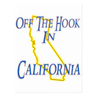California - Off The Hook Postcard