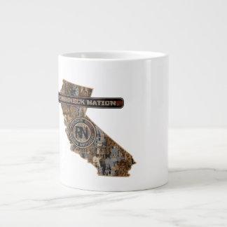 California Oilfield Large Coffee Mug