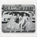 California Orange Ball, 1930s Mousepad