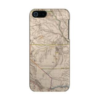 California, Oregan, Utah, New Mexico Metallic iPhone SE/5/5s Case