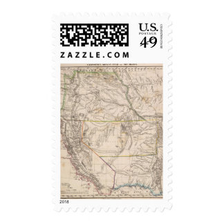 California, Oregan, Utah, New Mexico Stamps