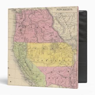 California, Oregon, Utah, and New Mexico Binder