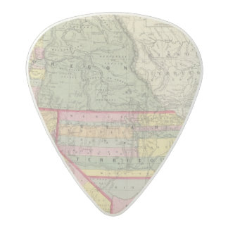 California, Oregon, Utah, New Mexico 2 Acetal Guitar Pick
