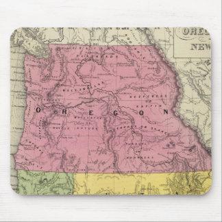 California, Oregon, Utah, New Mexico Mouse Pad