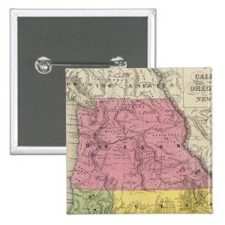 California, Oregon, Utah, New Mexico Pinback Button