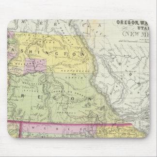 California, Oregon, Washington, Utah, New Mexico 2 Mouse Pad