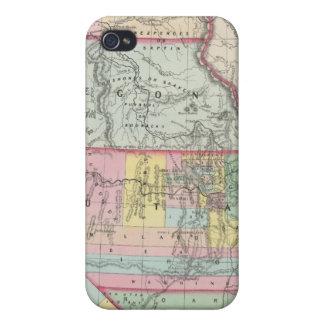 California, Oregon, Washington, Utah, New Mexico 4 iPhone 4 Case