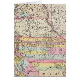 California, Oregon, Washington, Utah, New Mexico 5 Card