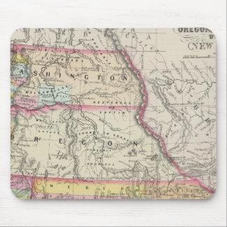 California, Oregon, Washington, Utah, New Mexico 5 Mouse Pad