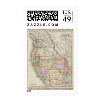 California, Oregon, Washington, Utah, New Mexico 5 Postage