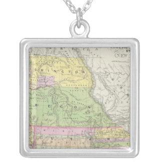 California, Oregon, Washington, Utah, New México 6 Collar Plateado