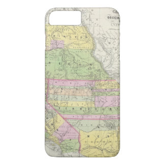 California, Oregon, Washington, Utah, New México 6 Funda iPhone 7 Plus