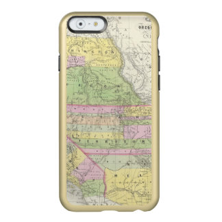 California, Oregon, Washington, Utah, New México 6 Funda Para iPhone 6 Plus Incipio Feather Shine