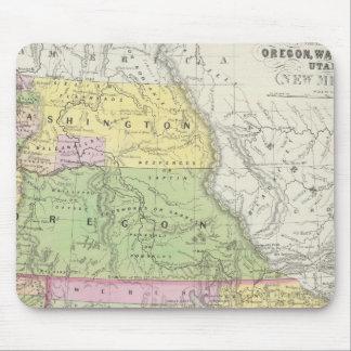 California, Oregon, Washington, Utah, New Mexico 6 Mouse Pad