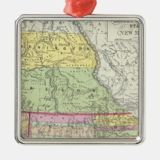 California, Oregon, Washington, Utah, New México 7 Ornamentos De Reyes