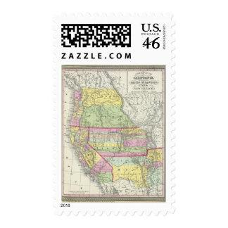 California Oregon Washington Utah New Mexico 7 Postage