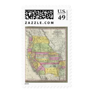 California, Oregon, Washington, Utah, New Mexico 8 Postage