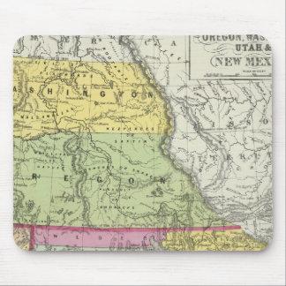 California, Oregon, Washington, Utah, New México 8 Alfombrilla De Raton