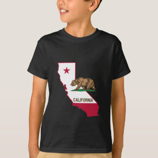 California Outline and Flag T-Shirt