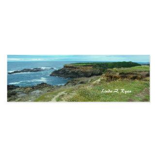 California Pacific Coast scene 3 Business Card