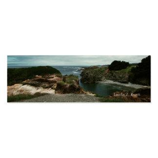 California Pacific Coast scene 4 Business Card