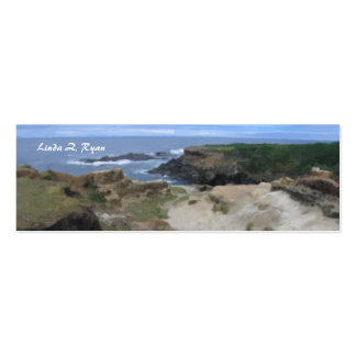California Pacific Coast scene Business Cards
