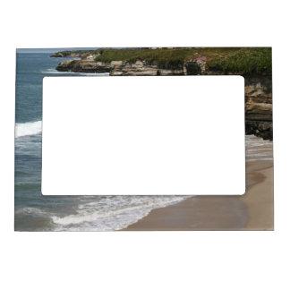 California Pacific Ocean Cliff Line Magnetic Frames