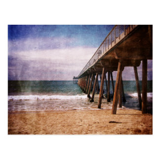 California Pacific Ocean Pier Postcard