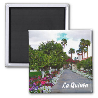 California Palm Springs Area 2 Inch Square Magnet