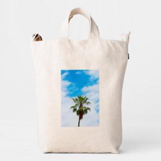 California Palm Tree BAGGU Duck Bag, Canvas Duck Bag