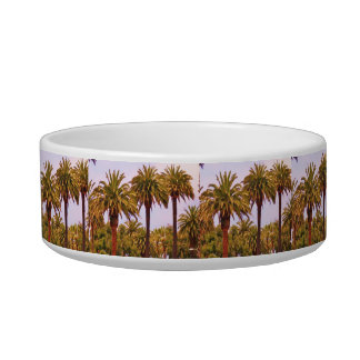 CALIFORNIA PALM TREE pet dish