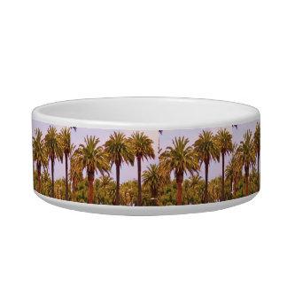 CALIFORNIA PALM TREE pet dish Pet Food Bowls