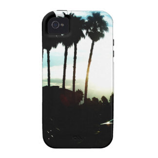California Palm Tree Silhouette iPhone Case Case-Mate iPhone 4 Cases